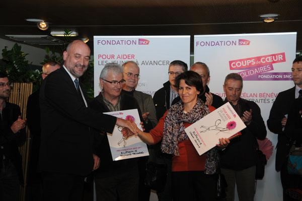 «Coup de Coeur Solidaires» de la Fondation SNCF