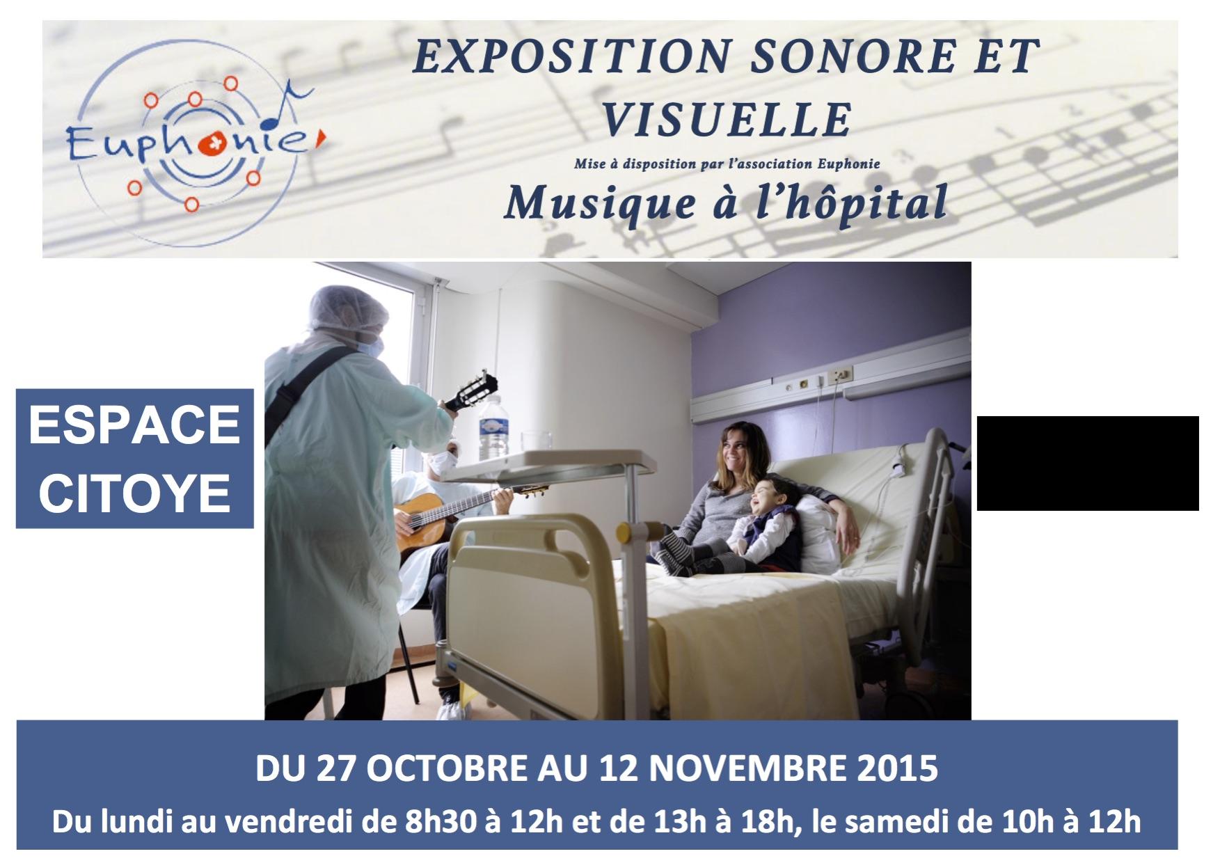 Exposition sonore et visuelle à l'Espace Citoyen de Cesson-Sévigné