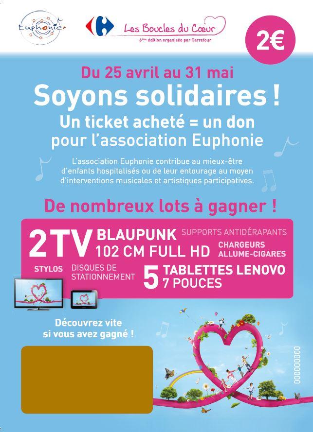Les boucles du coeur – Carrefour Cesson-Sévigné