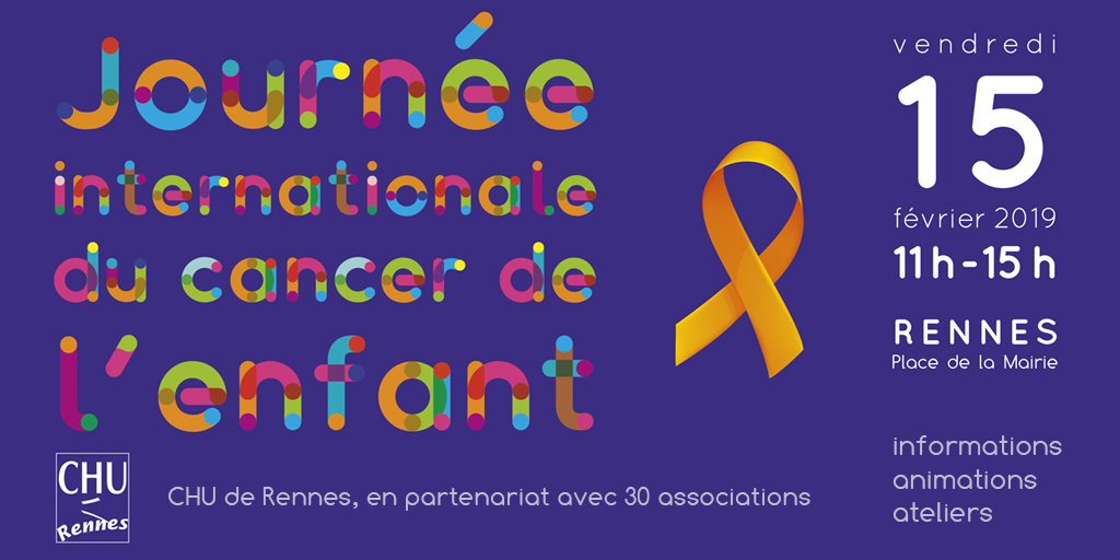 Journée internationale du Cancer de l'enfant