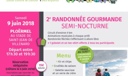 Venez marcher avec Euphonie et la Ligue contre le Cancer les 9 et 10 juin 2018