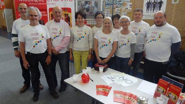 Euphonie, lauréate des Coups de coeur solidaires de la Fondation SNCF – article parût le 25 juillet dans Ouest-France